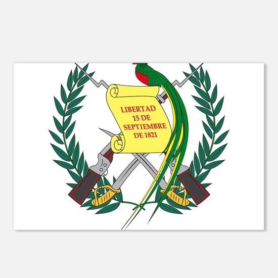 Guatemalan Coat of Arms Postcards (Package of 8)