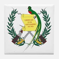 Guatemalan Coat of Arms Tile Coaster