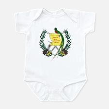 Guatemalan Coat of Arms Infant Creeper
