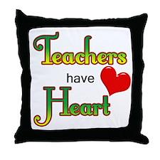 Cute Preschool teacher Throw Pillow