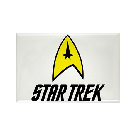 Star Trek Command Rectangle Magnet