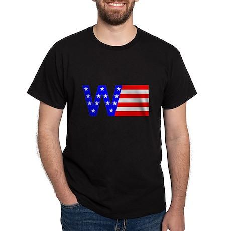 W Flag Black T-Shirt