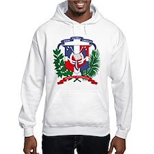 Dominican Republic Coat of Ar Hoodie