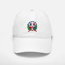 Dominican Republic Coat of Ar Baseball Baseball Cap