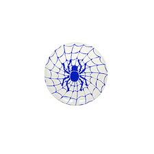 Halloween Spider Mini Button