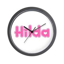 """Hilda"" Wall Clock"