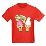 Cool Ice Cream Kids Dark T-Shirt