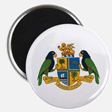 """Dominica Coat of Arms 2.25"""" Magnet (10 pack)"""