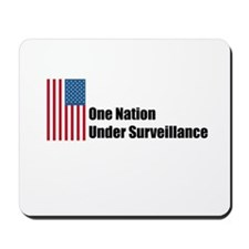 One Nation Under Surveillance Mousepad