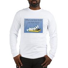 Faith/hope Long Sleeve T-Shirt