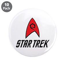 """Star Trek Engineering 3.5"""" Button (10 pack)"""