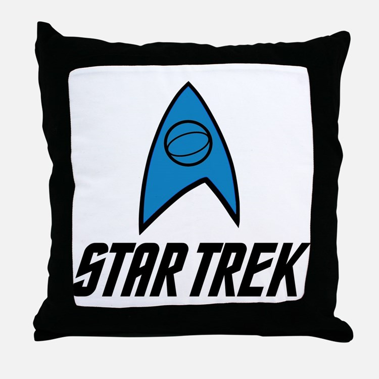 Star Trek Science Throw Pillow