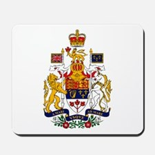Canadian Coat of Arms Mousepad
