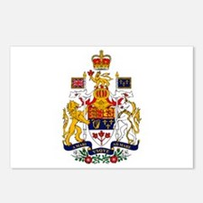Canadian Coat of Arms Postcards (Package of 8)