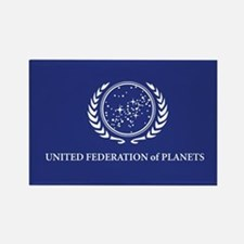 United Federation of Planet Flag Rectangle Magnet