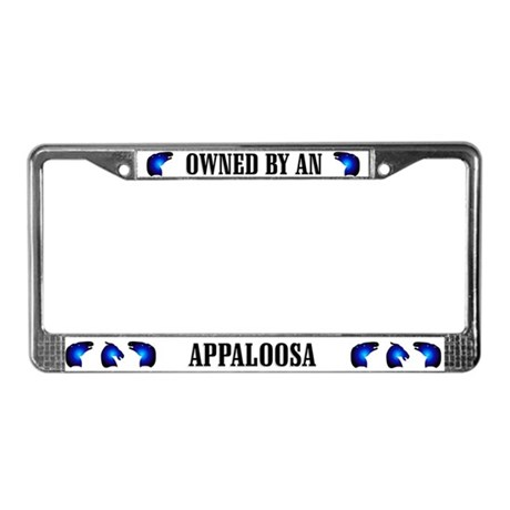 Owned by Appaloosa License Plate Frame