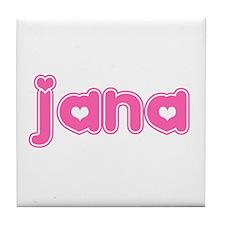 """Jana"" Tile Coaster"