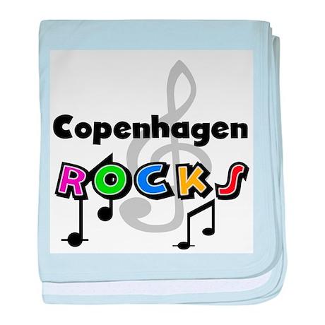 Copenhagen Rocks Infant Blanket