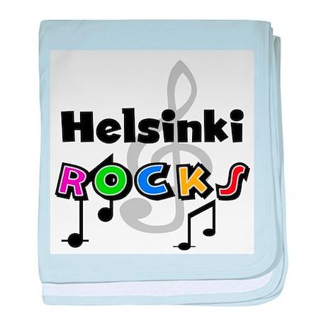 Helsinki Rocks Infant Blanket