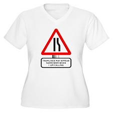 Tramlines Narrow - T-Shirt