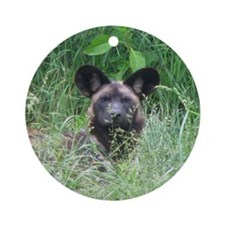 pup 2 Ornament (Round)