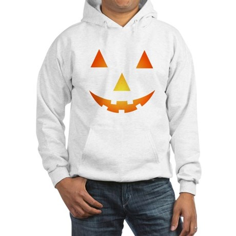 Halloween Pumpkin Hooded Sweatshirt