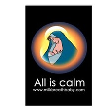 All Is Calm Postcards (Package of 8)