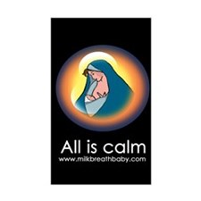 All Is Calm Decal