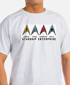 Starfleet Emblems T-Shirt