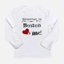 Boston Loves Me Long Sleeve Infant T-Shirt
