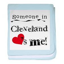 Cleveland Loves Me Infant Blanket