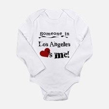 Los Angeles Loves Me Long Sleeve Infant Bodysuit