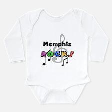 Memphis Rocks Long Sleeve Infant Bodysuit
