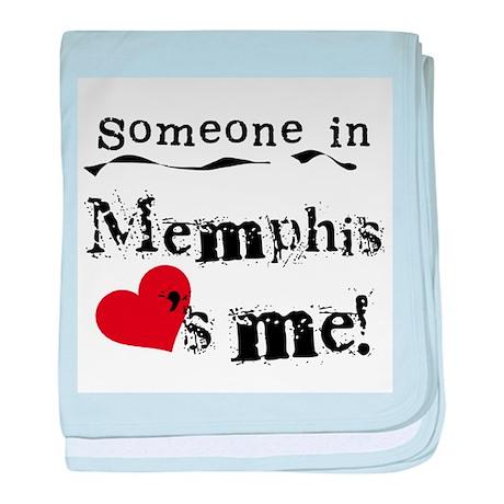 Memphis Loves Me Infant Blanket
