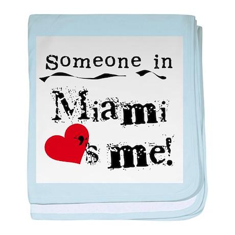 Miami Loves Me Infant Blanket