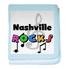 Nashville Rocks Infant Blanket