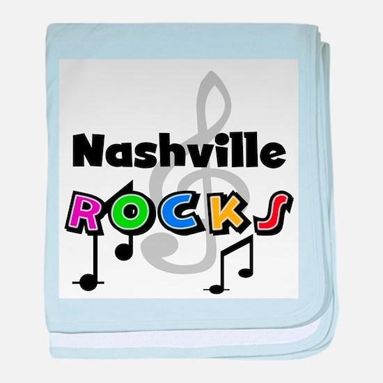 Nashville Rocks Infant Blanket