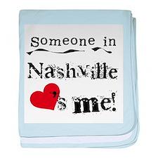 Nashville Loves Me Infant Blanket