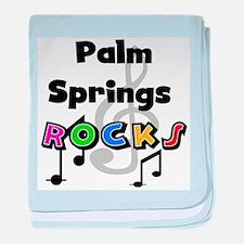 Palm Springs Rocks Infant Blanket