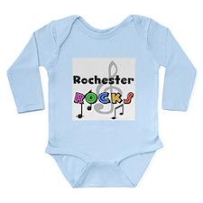 Rochester Rocks Long Sleeve Infant Bodysuit