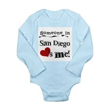 Someone in San Diego Loves Me Long Sleeve Infant B