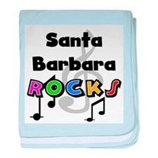 Santa Barbara Rocks Infant Blanket