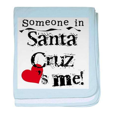 Santa Cruz Loves Me Infant Blanket