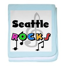 Seattle Rocks Infant Blanket