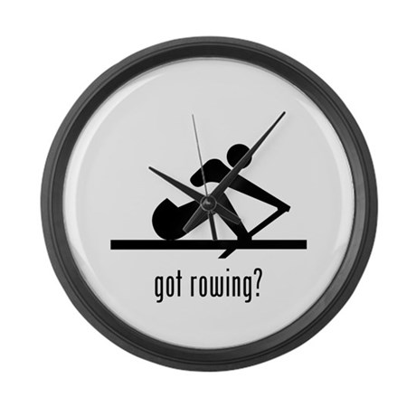 Rowing Large Wall Clock