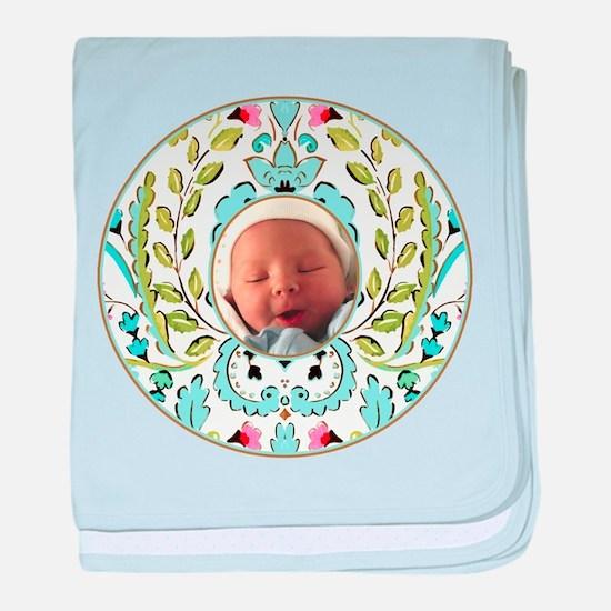 Baby Oliver face Infant Blanket