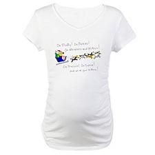 Doggy Claus & Kitty Reindeer Shirt