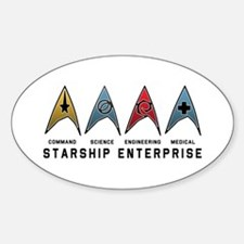 Starfleet Emblems Decal