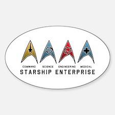 Starfleet Emblems Decal