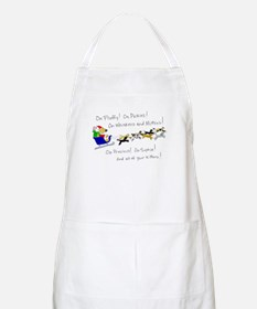 Doggy Claus & Kitty Reindeer Apron